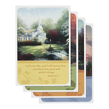Amazon Thomas Kinkade Encouragement Greeting Cards Boxed Set