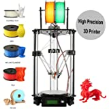 Iglobalbuy Auto-leveling Kossel Delta Rostock DIY 3D G2s Mini Printer Single Dual Extruder Self-assembly 3D Printer DIY Kit