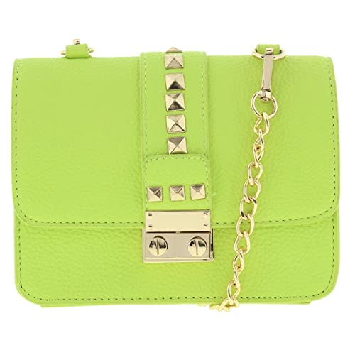 a2a3e5760a Image Unavailable. Image not available for. Color  BCBG Paris Womens Caviar  Faux Leather Mini Crossbody Handbag Green Small
