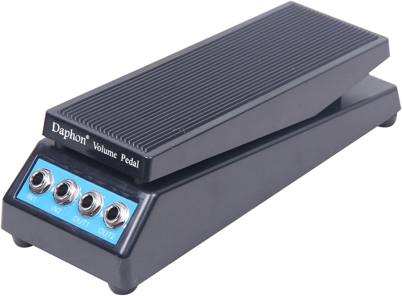 Signstek–Pedal de volumen de sonido estéreo DJ banda efecto de guitarra pedal para de baja impedancia con amplitud ajustar pomo