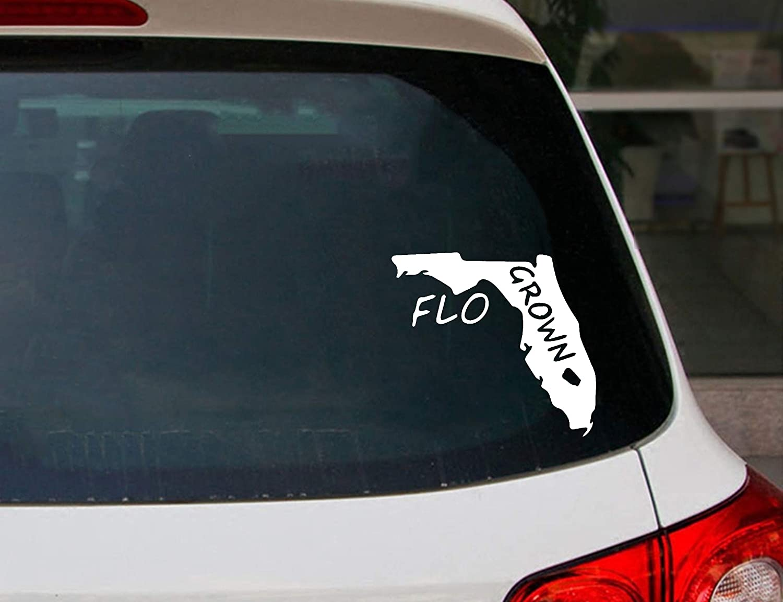 Flo Grown Car//Truck Window Vinyl Decal