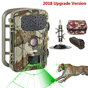 af5b0c9bd88e6 Wildlife Trail Camera Trap 1080P 12MP No Glow Infrared Night Vision Motion  Activated Animal Camera Cam 0.5s Trigger Speed 2.4Inch Screen IP66 ...