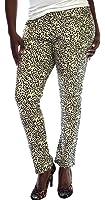 Jeans Colony Women's Junior Plus Size Denim Skinny Jeans - Khaki/Black