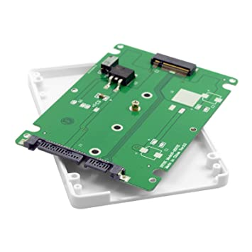 Carcasa blanca de disco duro chenyang E431 E531 x240 y410p y510p M.2 NGFF PCI-E 2 LANE SSD a 7 mm 2,5 SATA 22 pines