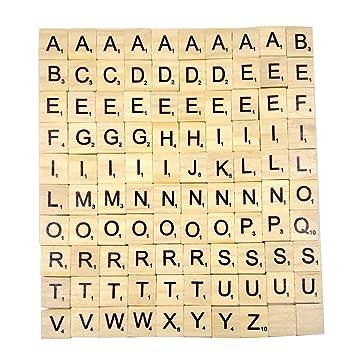 lettre z scrabble Generic   Lettres en Bois Puzzle Alphabets A à Z, 100 Scrabble  lettre z scrabble