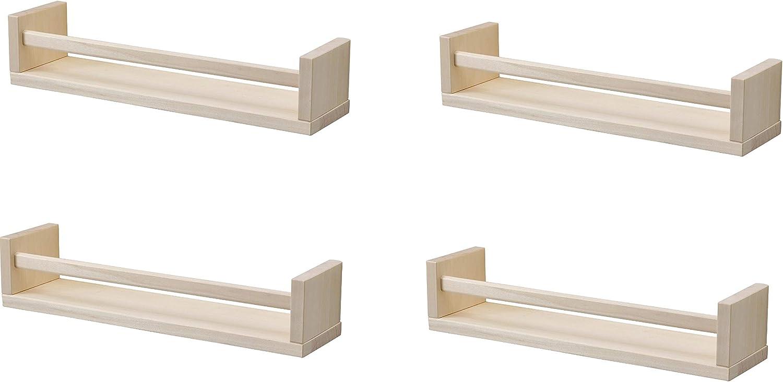 IKEA 4 especieros de madera – guardería – soporte para libros ...