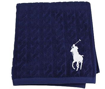 Jk27600 Poney Gsm Ralph Lauren Marine Grande Home Polo Serviette IYWD9E2ebH
