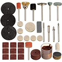 DIY Crafts 105 Pieces Drill Bit Rotary Set Kit Hobby Polish Grinding For Rotaty Tools Accessories Grinding Buff Polish DIY Crafts Works