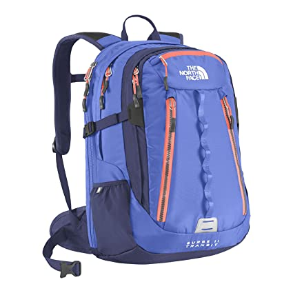 82b0c2330 Amazon.com: THE NORTH FACE SURGE II TRANSIT BACKPACK BAG BROOK BLUE ...