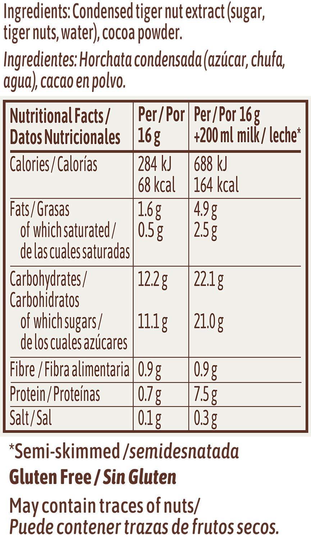 ChufaChoc Bebida Soluble 384g