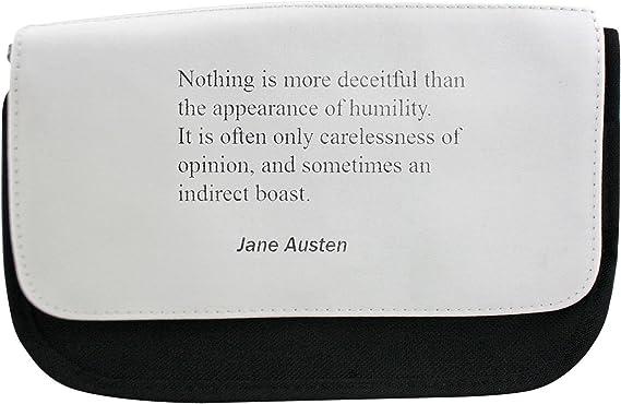 No Hay Nada Más engañoso que la apariencia de humildad. A menudo es sólo un Descuido De Opinión, y a veces un indirecta Boast. Estuche, maquillaje bolsa, Multibag: Amazon.es: Hogar