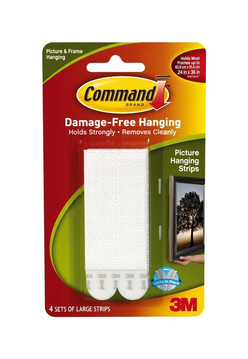 command large picture hanging strips white 12 strip amazon com