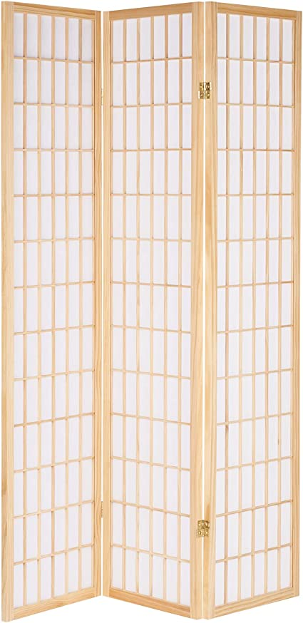 Hartleys Japanese Style Folding Wooden Room Divider Amazon Co Uk Kitchen Home