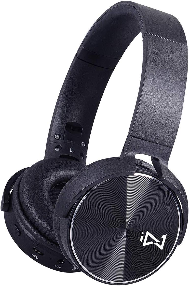 Trevi DJ 12E50 BT - Auriculares Digitales estéreo Hi-Fi con Bluetooth