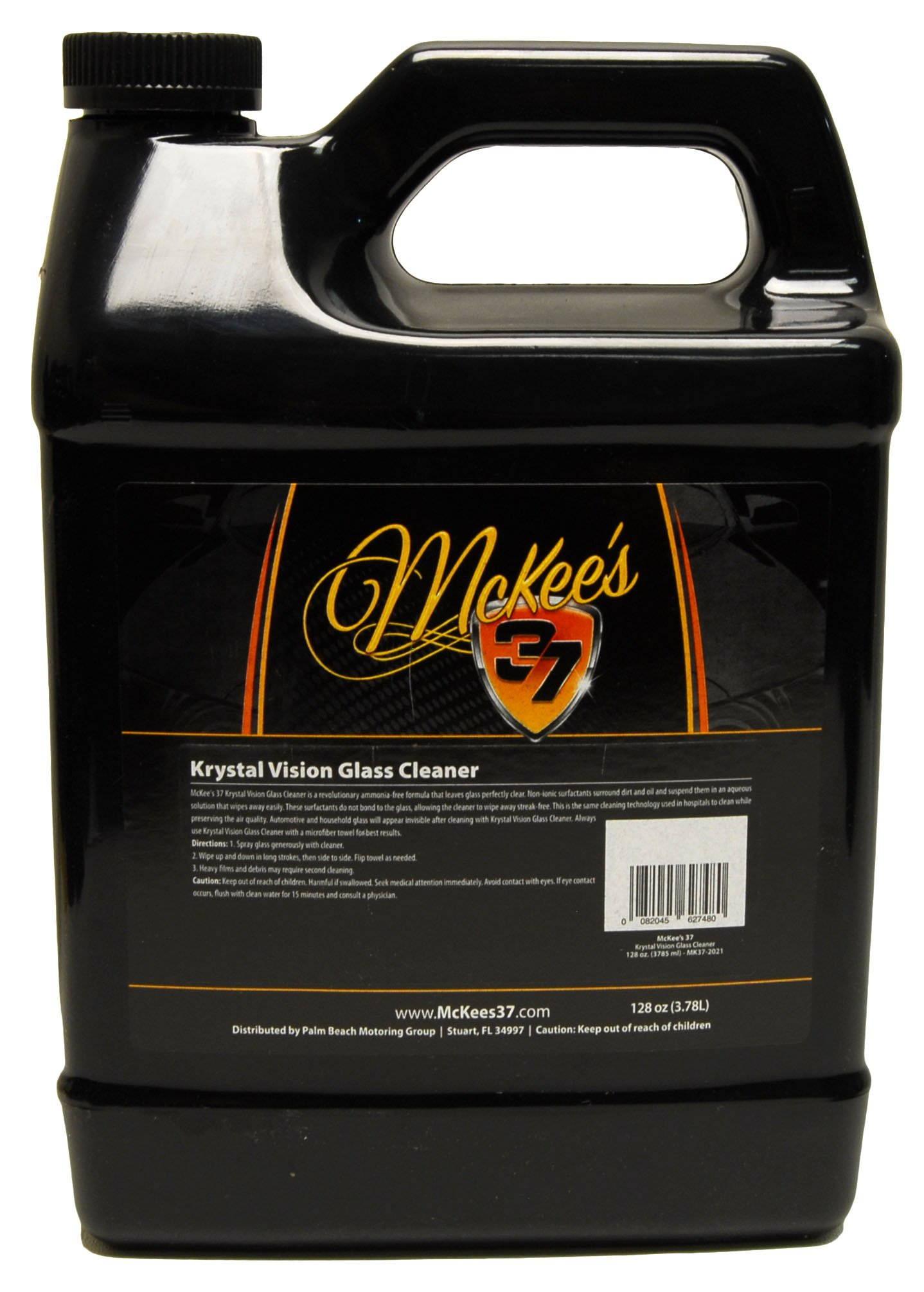McKee's 37 MK37-2021 Krystal Vision Glass Cleaner 128 Fluid_Ounces by McKee's 37 (Image #1)