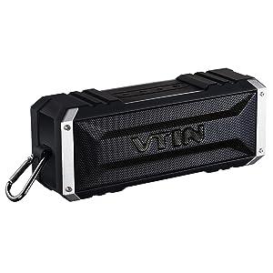 Vtin 20 Watt Waterproof Bluetooth Speaker, 25 Hours Playtime Portable Outdoor Bluetooth Speaker, Wireless Speaker for iPhone, Pool, Beach, Golf, Home