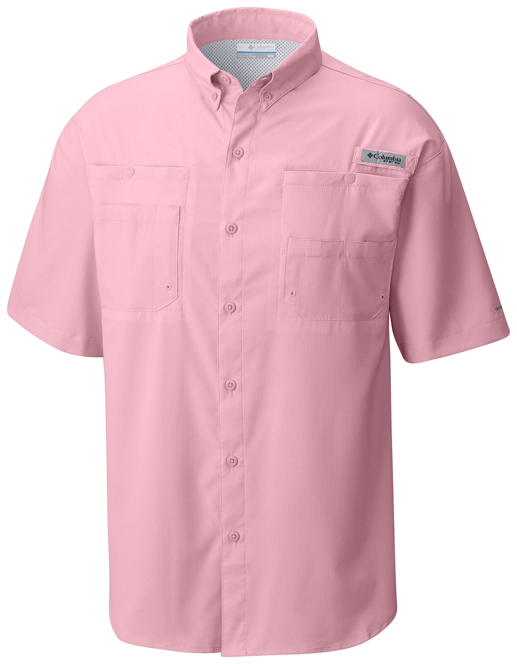 Columbia Men's Tamiami II Short Sleeve Fishing Shirt, Cupid, X-Small by Columbia (Image #1)
