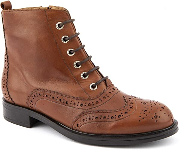 Jones Bootmaker Ladies Lori Tan Ankle