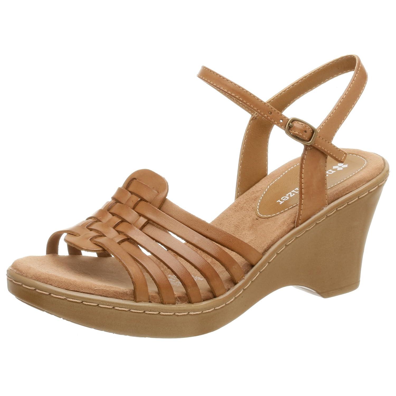 Naturalizer Women's Chapman Wedge Sandal B000MPQ58E 6 W US Camelot