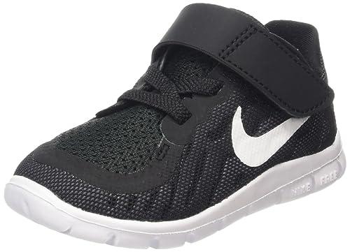 big sale fb0d5 53936 Nike Toddler Boys Free 5. 0 Running Shoe Black/Dark Grey/Cool Grey/White 7:  Amazon.in: Shoes & Handbags