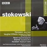 クレンペラー/ヴォーン・ウィリアムズ/ラヴェル/ブラームス/ノヴァーチェク:管弦楽作品集(ストコフスキー)(1964, 1974)