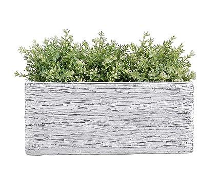 amazon com vencer 10 inch rectangular modern minimalist cement