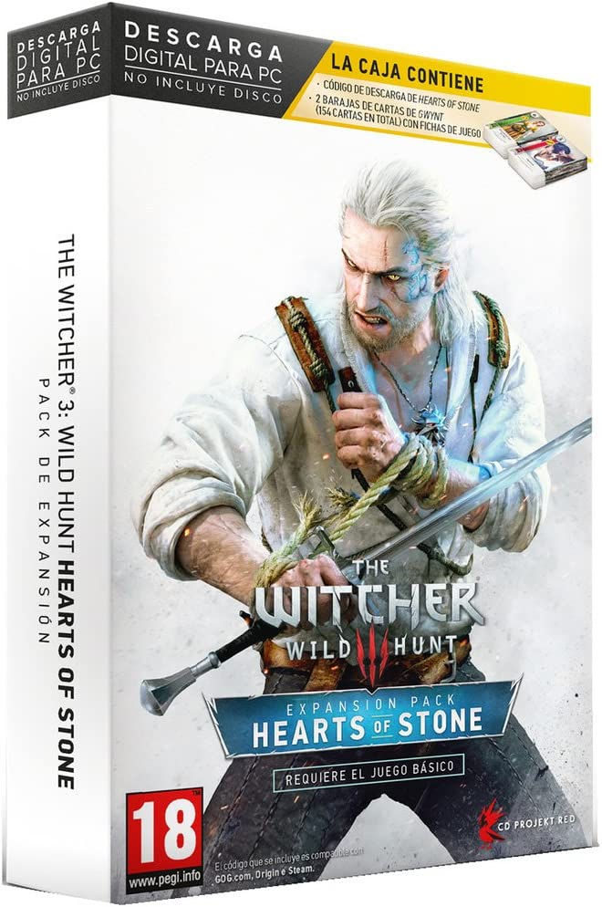 The Witcher 3: Wild Hunt: Hearts of Stone: Amazon.es: Videojuegos