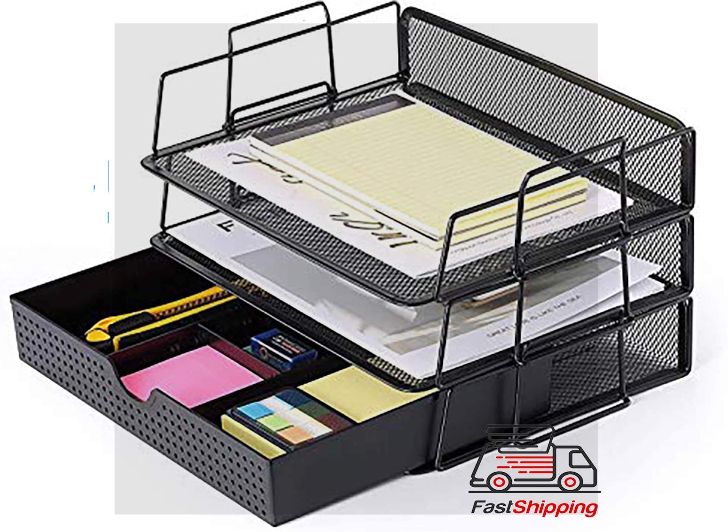 Amazon.com : 36-Tier Mesh Desktop File Organizer Document Letter