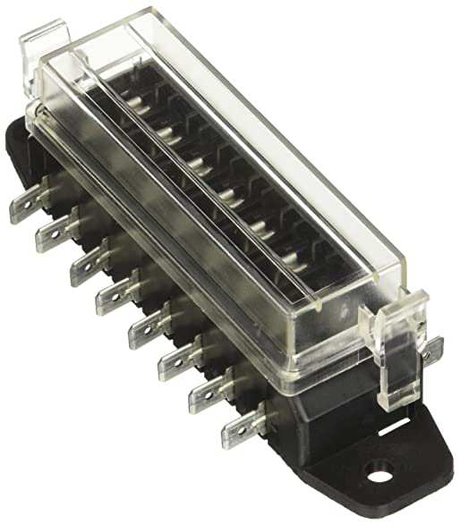710JQ2lRvuL._SY587_ amazon com hella h84960111 8 way lateral single fuse box automotive single fuse box at bakdesigns.co