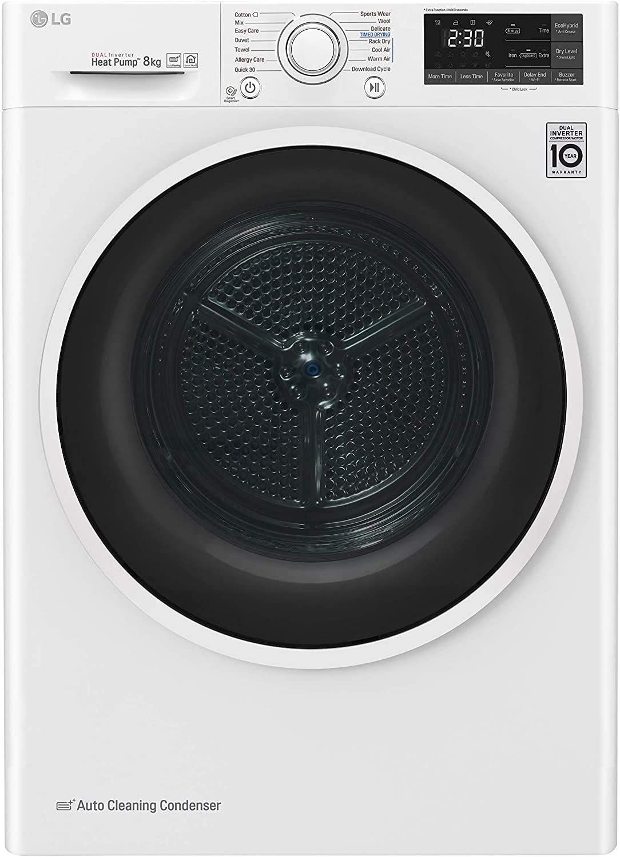 LG RC80U2AV4Q La migliore asciugatrice a pompa di calore intelligente