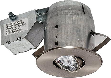 Recessed Support Chrome Square Swivel Lampholder spotlights gu10 d4a1