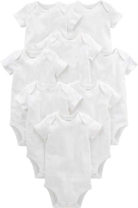 Simple Joys by Carters 6-Pack Short-Sleeve Bodysuit B/éb/é gar/çon