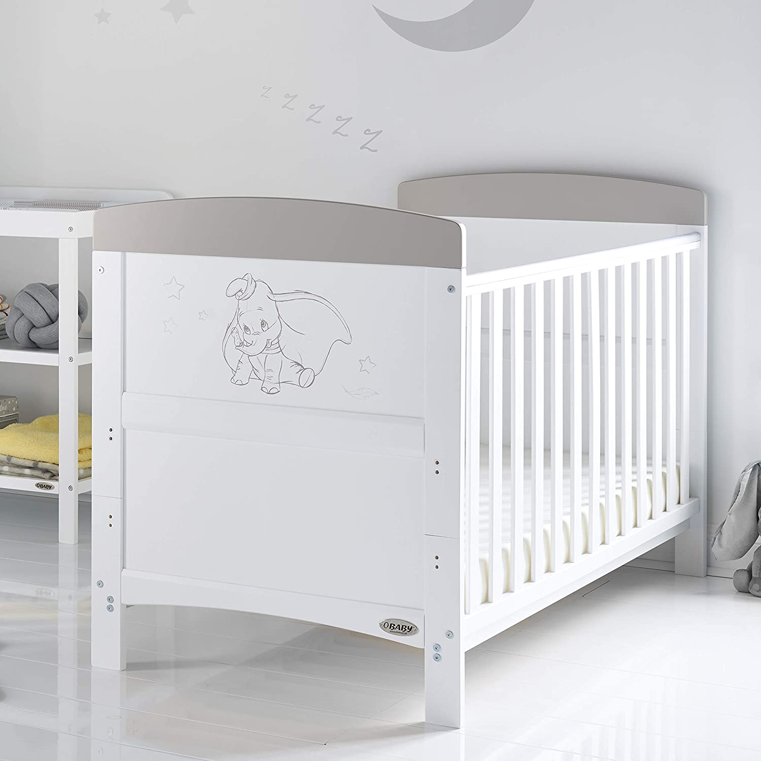 Obaby Dumbo Cot Bed Dont Just Fly Soar