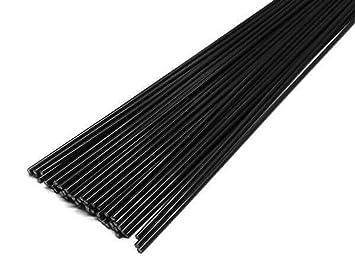 Alambre de soldadura de plástico ABS 3 mm Redondo Negro 900-1100mm ...