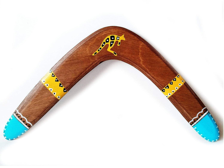 Boomerang de madera. Deporte, ocio, regalo y decoración. DIESTRO. Apto para adultos y niños desde 10 años. Ideal Ideal regalo boda, regalo cumpleaños.