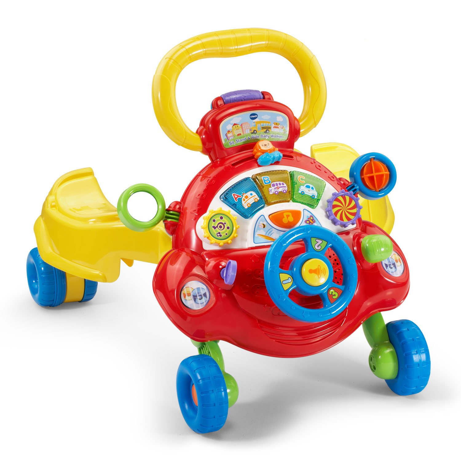 VTech Sit, Stand and Ride Baby Walker (Frustration Free Packaging) (Amazon Exclusive) by VTech (Image #11)