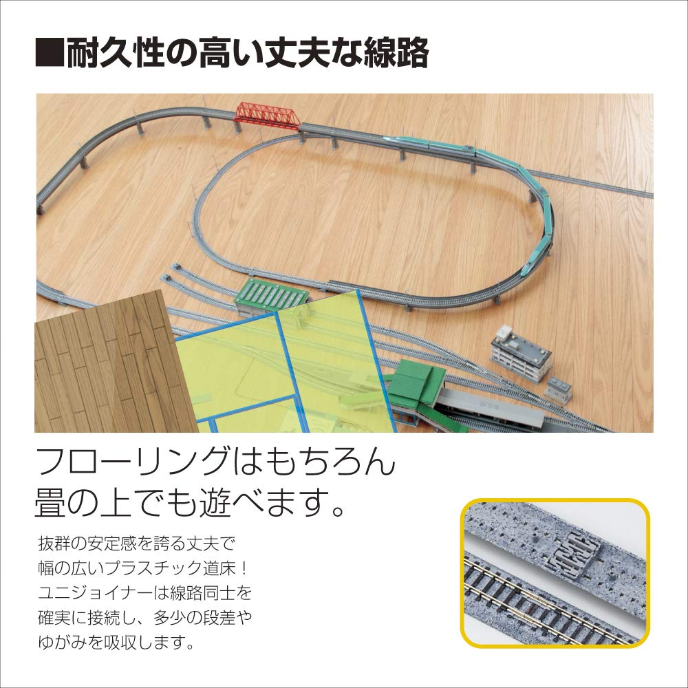 Kato USA Model Train Products V16 UNITRACK Japanese Packaging Version Double Track Outer Loop Set