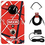 MXR Eddie Van Halen Phase 90 Pedal Guitar Pedal featuring Wide Range of Sounds with AC Power adapter and cables!
