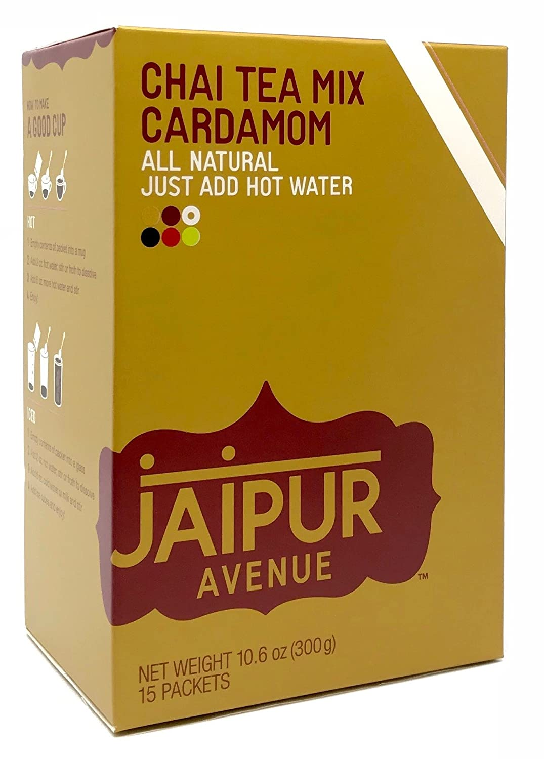 Jaipur Avenue Chai Tea Mix Cardamom