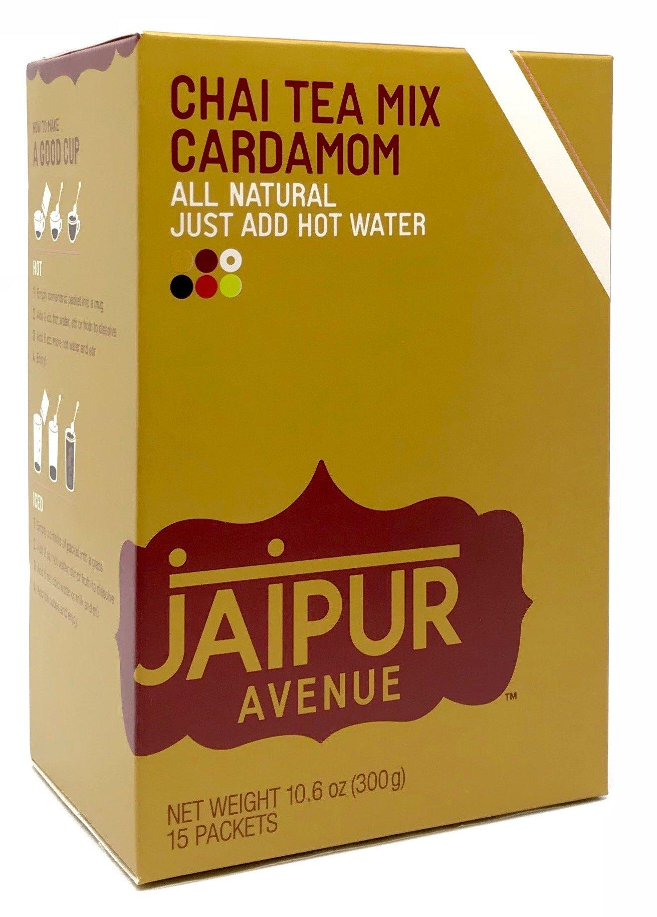 Jaipur Avenue Chai Tea Mix Cardamom (15-Count Box)