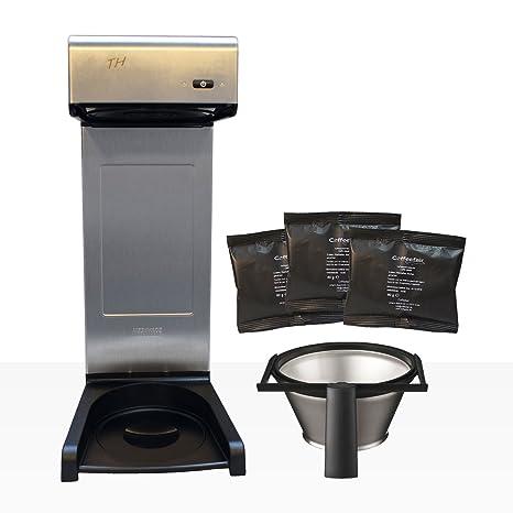 Cafetera eléctrica Bonamat TH10 rápido filt dispositivo + Coffe efair filtro Café 80 x 60 g