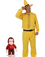 Curious George Man In The Yellow Hat DELUXE Costume Set