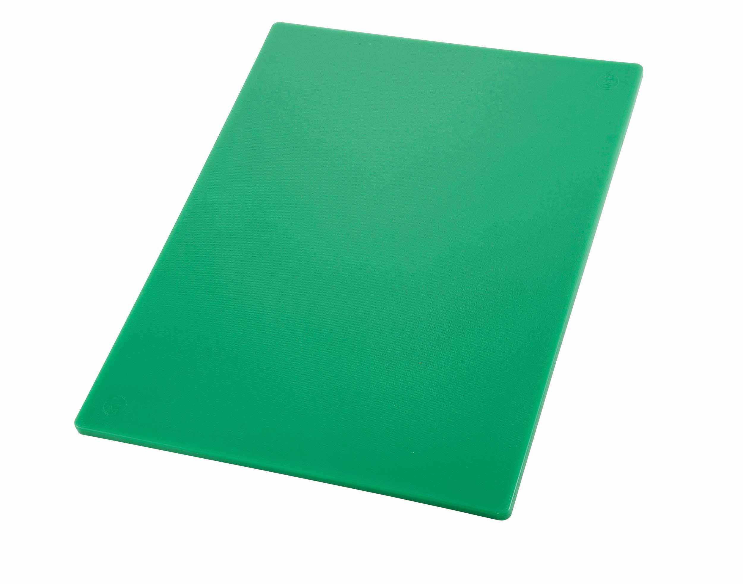 Winco Cutting Board, 12 by 18 by 1/2-Inch, Green