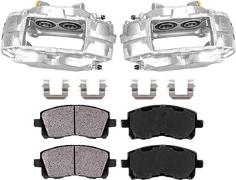 fit Ford Fiesta Callahan CCK05957 2 FRONT Premium Original Brake Calipers Pair Hardware