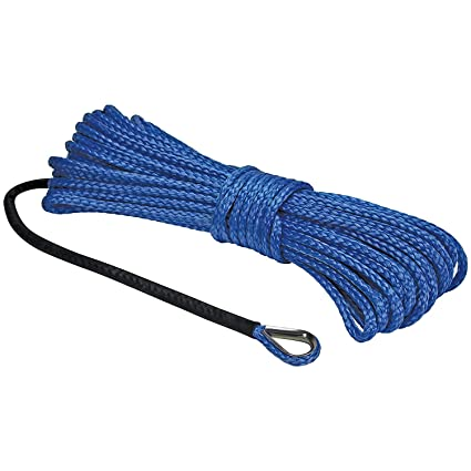 """UTV Winch Rope Blue Extreme Max /""""The Devil/'s Hair/"""" Synthetic ATV"""