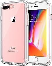 JETech Funda para iPhone 8 Plus iPhone 7 Plus, Carcasa Bumper, Shock-Absorción, Anti-Arañazos, HD Clara