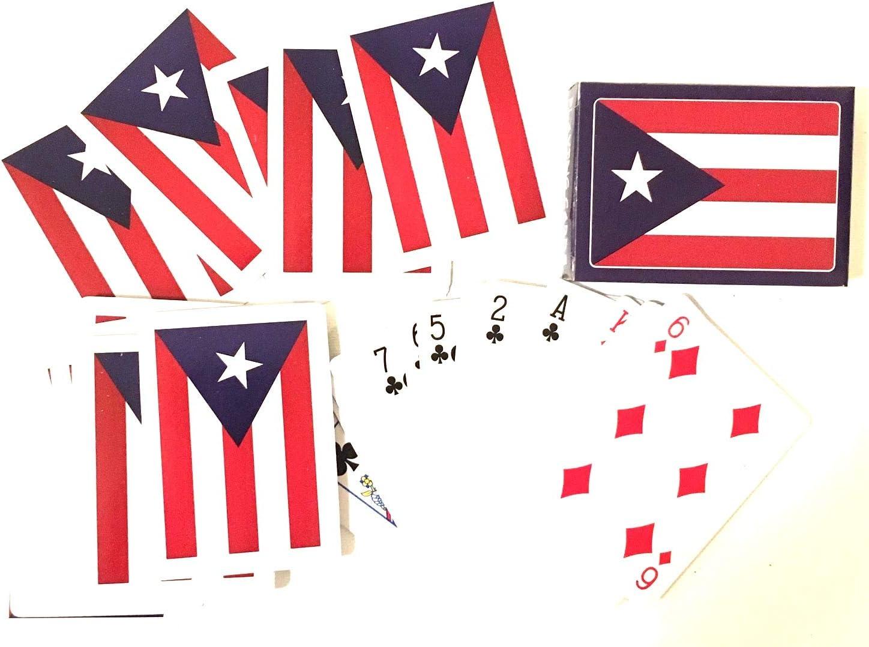Puerto Rico Flag Playing Cards Novelty Puerto Rican Boricua Family Fun