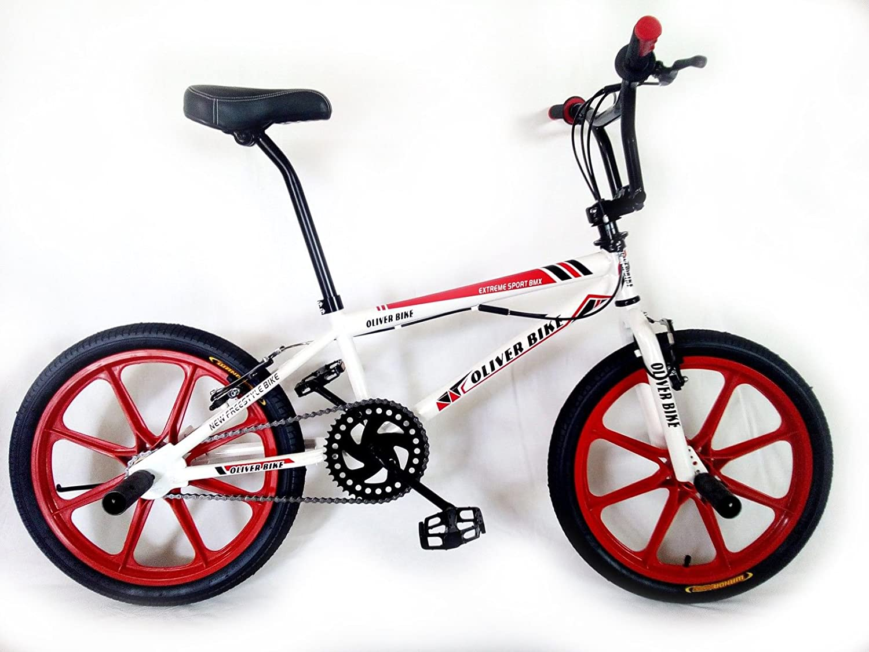 OLIVER BIKE Bicicleta BMX 20, Freestyle, Ruedas de radios ...