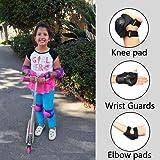 eNilecor Kid's Knee Pads Elbow Pads Wrist Guards