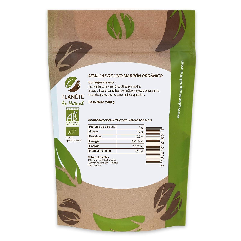 Semillas de Lino marrón Orgánico - 500g